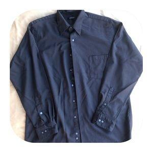 DKNY Black Button Down 16 34/35